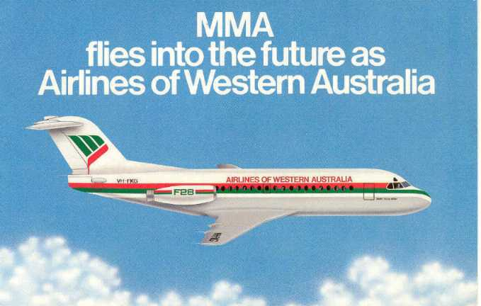 F-28 Airlines of Western Australia